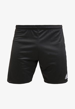 PARMA PRIMEGREEN FOOTBALL 1/4 SHORTS - Sports shorts - black/white