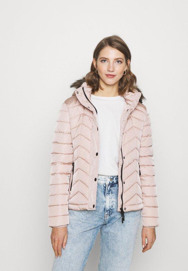 LUXE FUJI PADDED JACKET - Light jacket - blush