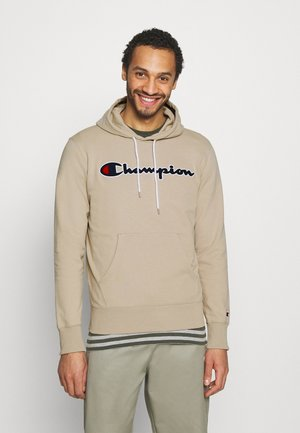 HOODED - Sweatshirt - beige