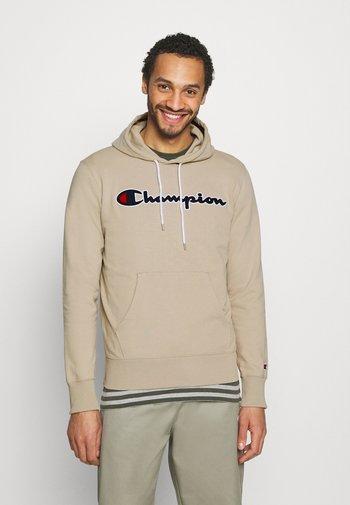 HOODED - Sweatshirt - beige