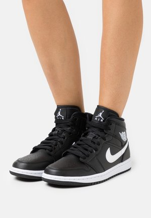 AIR 1 MID  - Sneakers hoog - black/white