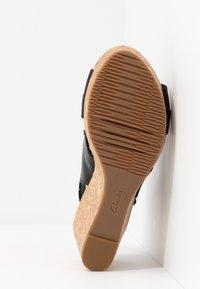 Clarks - ANNADEL  - Platform sandals - black - 6