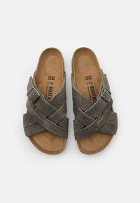 Birkenstock - LUGANO UNISEX - Sandalias planas - faded khaki - 3