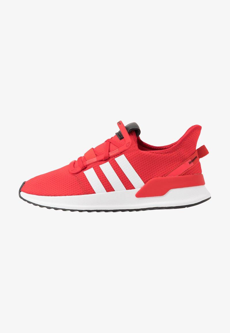 adidas Originals - PATH RUN - Joggesko - scarlet/footwear white/shock red