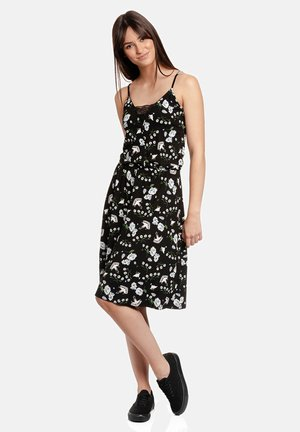 Cocktail dress / Party dress - schwarz allover