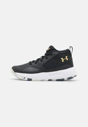 LOCKDOWN 5 UNISEX - Zapatillas de baloncesto - black/gold