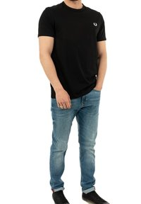 Fred Perry - T-shirt med print - noir - 1