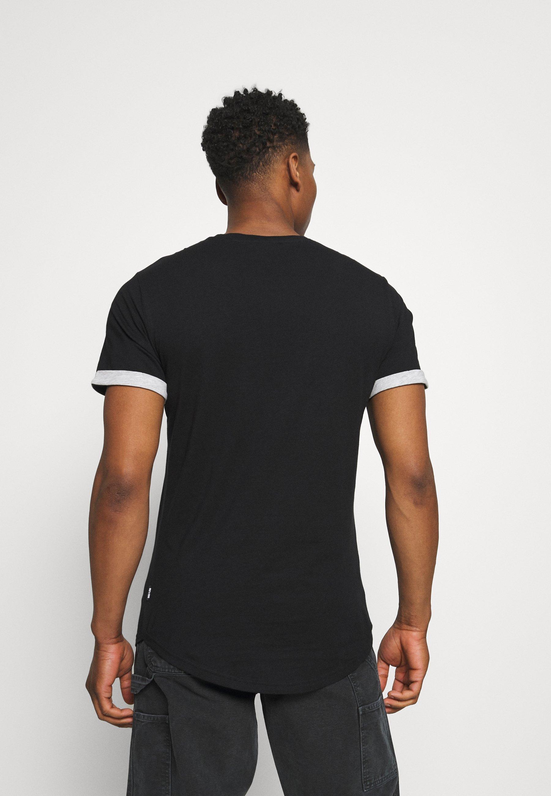 Men ONSMATT LIFE LONGY CONTRAST TEE - Print T-shirt