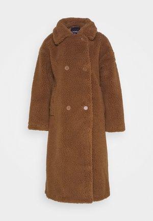 TEDDY COAT - Mantel - brown