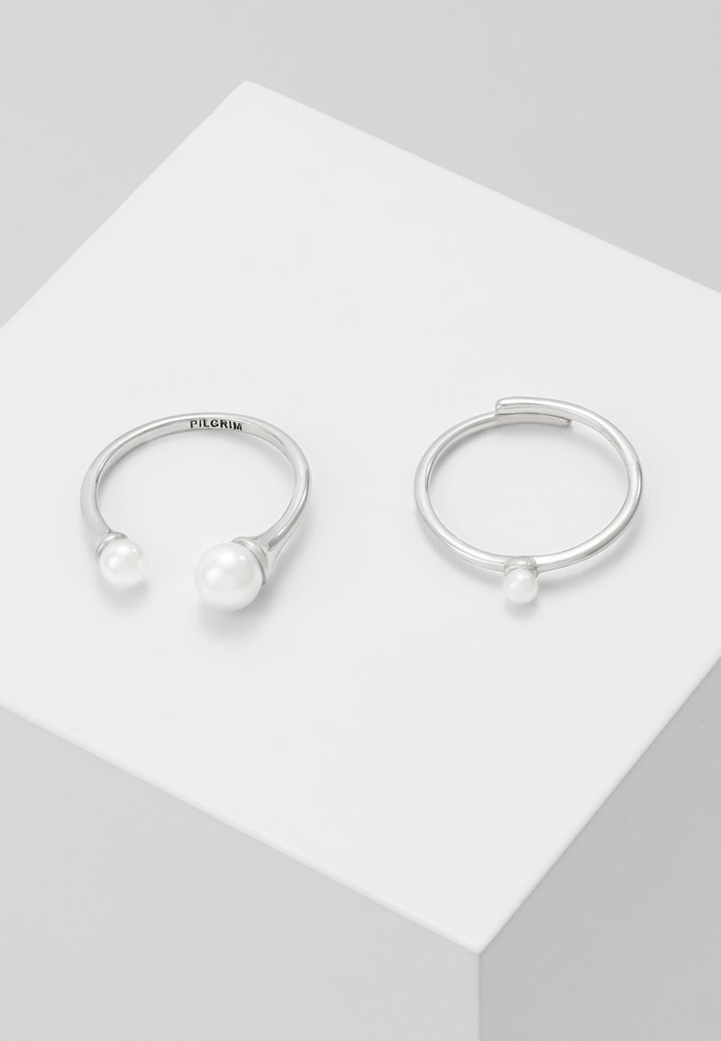 Pilgrim - 2 PACK - Ring - silver-coloured