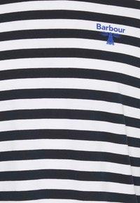 Barbour Beacon - STRIPED TEE - Långärmad tröja - navy - 2