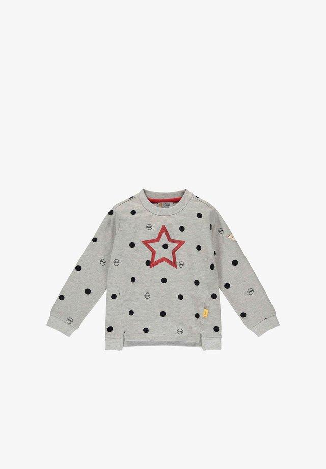 MIT PUNKTEN - Sweater - soft grey melange