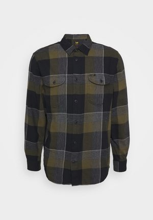 WORKER - Shirt - olive green