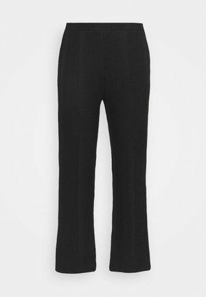 PCMANVI WIDE PANT - Tracksuit bottoms - black