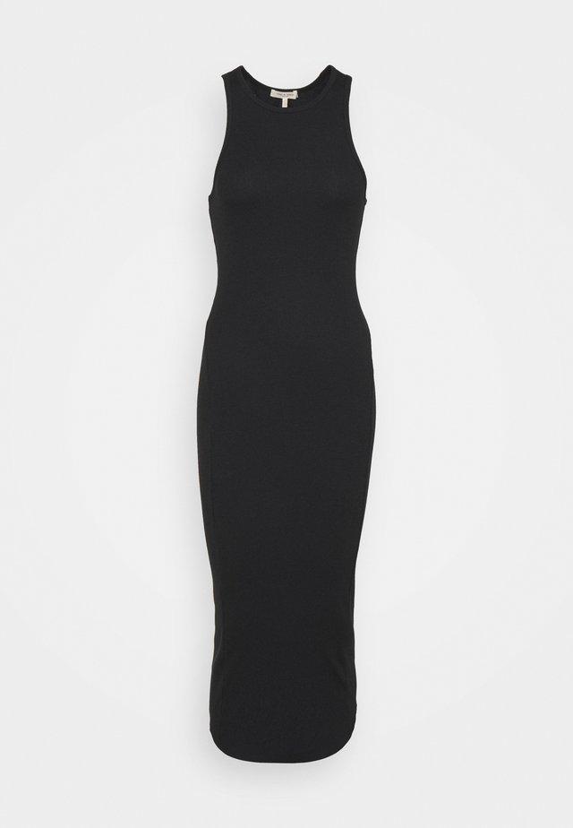THE ESSENTIAL TANK DRESS - Vestito lungo - black