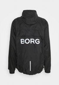 Björn Borg - WIND JACKET - Sportovní bunda - black beauty - 1