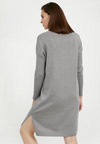Finn Flare - Jumper dress - grey melange - 2