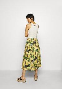 Gestuz - CASSIAGZ SKIRT  - A-line skirt - yellow - 2