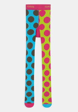 KIDS FLIPSIDE DOTS - Tights - pink