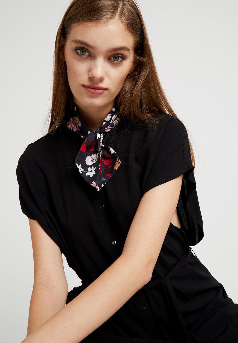 Codello - FLOWER PRINT - Šátek - black