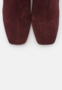 Zign - Ankle boots - bordeaux - 5