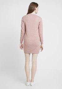 JDY - JDYMARCO DRESS - Strikket kjole - polignac/melange - 2