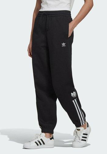 FLEECE PANT ADICOLOR ORIGINALS RELAXED PANTS - Tracksuit bottoms - black