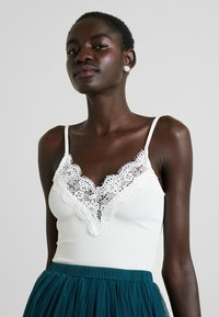 New Look Tall - GO TRIM STRAPPY  - Top - white - 3