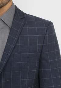 Selected Homme - SLHONE-MYLOAIR CHECK SUIT - Garnitur - dark blue - 6