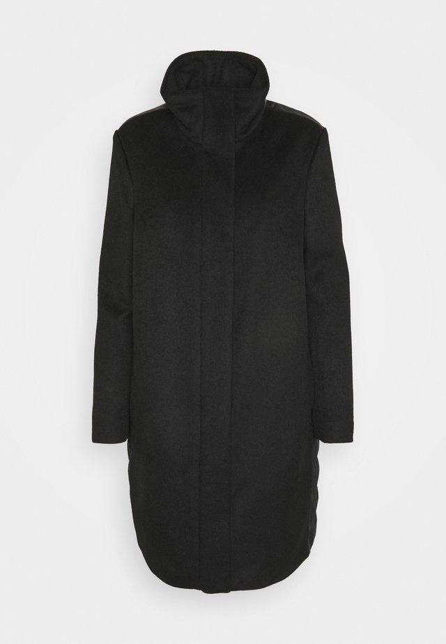 LANGARM - Cappotto classico - black