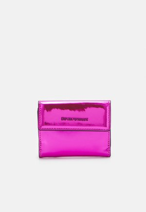 FLO PATENT WOMENS TRIFOLD WALLET - Geldbörse - fuxia