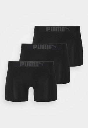 PREMIUM 3 PACK - Pants - black