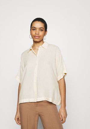 KELIS - Button-down blouse - yellow/white