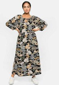 Sheego - Maxi dress - schwarz gemustert - 0