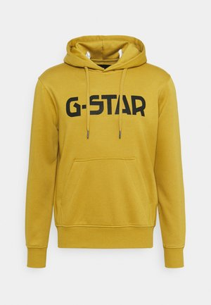 G-STAR HDD SW - Hoodie - ashor sweat r - toasted