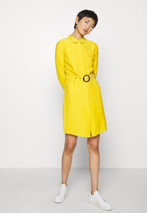 PERI DRESS - Shirt dress - lemon curry