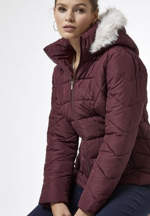 PUFFER COAT - Winter jacket - red