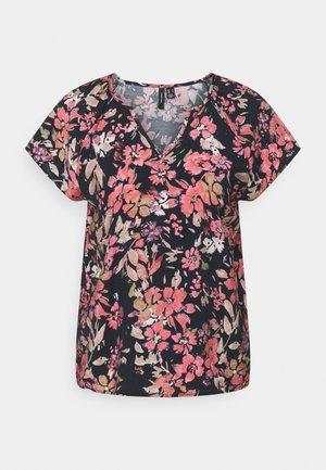 VMGIGI  - Print T-shirt - navy blazer