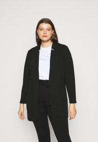 CAPSULE by Simply Be - CHUCK ON JACKET - Short coat - black - 0