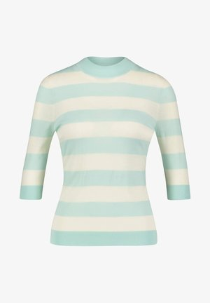 FALEENA - Jumper - off-white/light blue