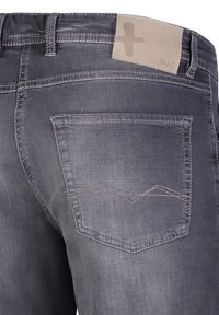 MAC Jeans - BERMUDA - Denim shorts - ashgrey used - 2