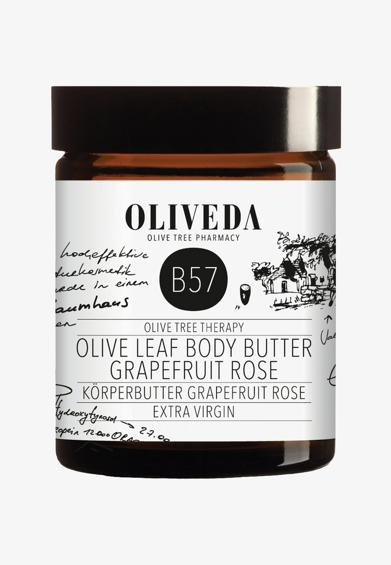 Oliveda - BODY BUTTER GRAPEFRUIT / ROSE - Fugtighedscreme - -