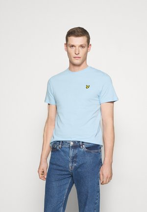 Jednoduché triko - pastel blue