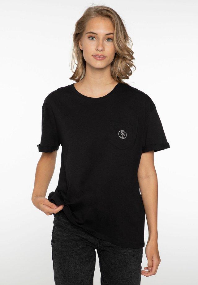 ADA - Jednoduché triko - true black