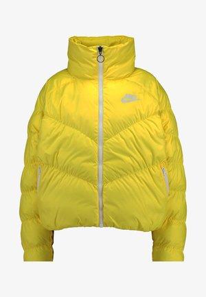SYN FILL - Winter jacket - chrome yellow/white