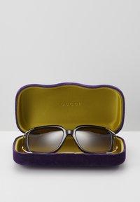 Gucci - Sunglasses - havana/gold-coloured/brown - 3