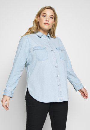 SHIRT - Button-down blouse - blue