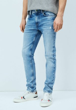 Jeansy Slim Fit - denim