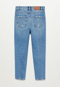 Mango - Slim fit jeans - bleu moyen - 1