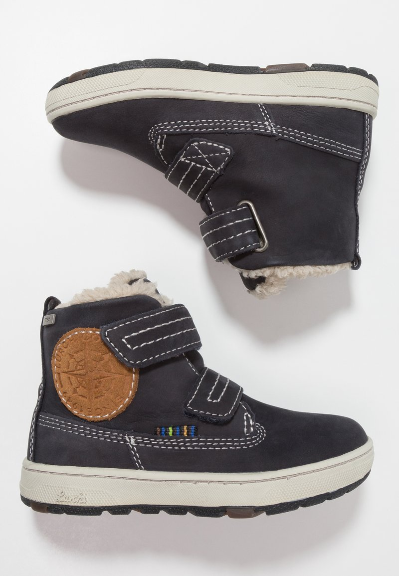 Lurchi - DIEGO-TEX - Zimní obuv - atlantic